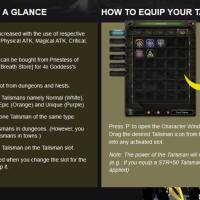 Dragon Nest Talisman System Guide